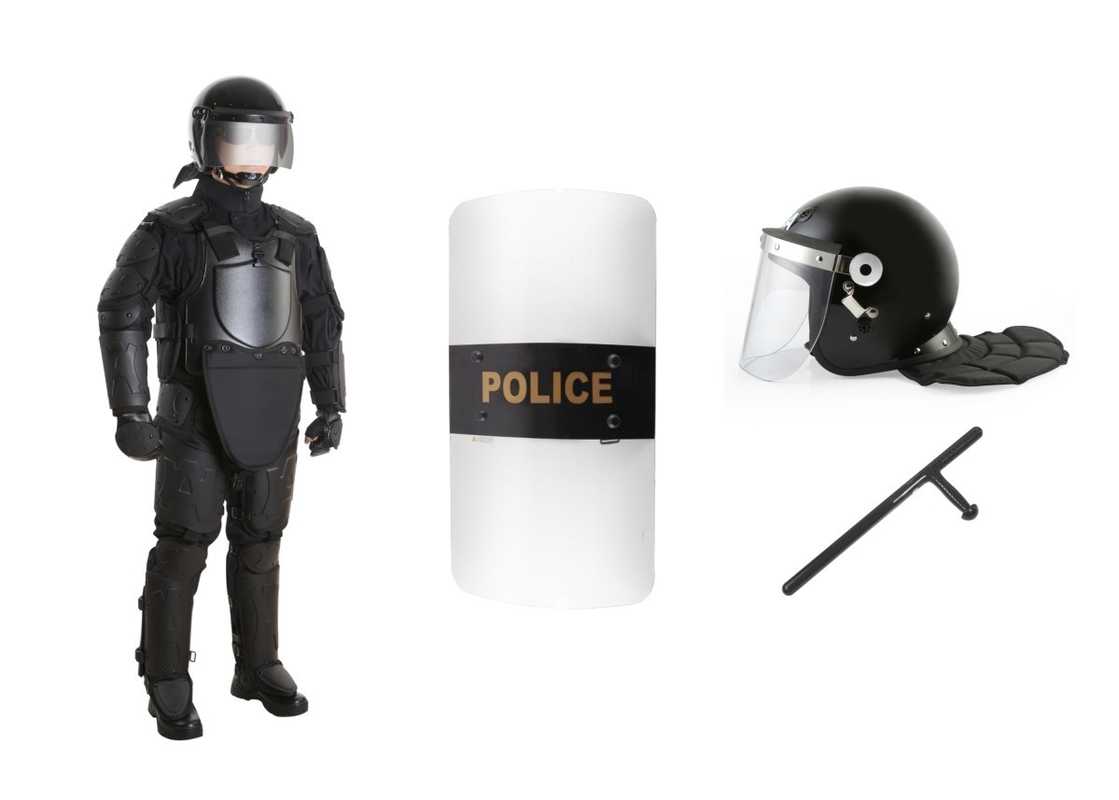 Police Military Bulletproof Riot Gear Equipment Full Body Armor For Protection