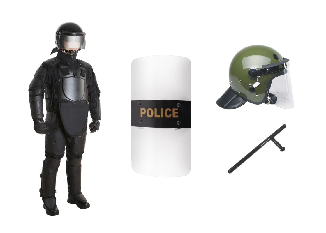 Tactical Anti Riot Suit Gear Clothing , Riot Control Equipment GA420-2008 Standard