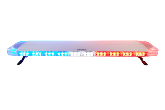 R10 Tipis 3 Watt Emergency Light Bar, Polisi Car Roof Light Bar Waterproof
