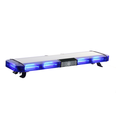 "Emergency Light Light Bar Untuk Truk Pemadam Kebakaran, 48 ""Blue LED Strobe Warning Light Bar"